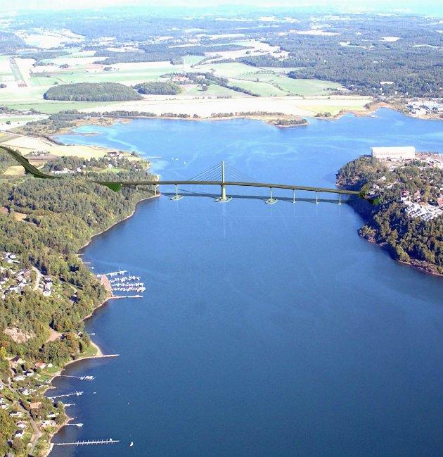 VESTFJORDEN: Atter har diskusjonen om ny fastlandsforbindelse til Nøtterøy blusset opp, skriver Ørnulf Thyberg.