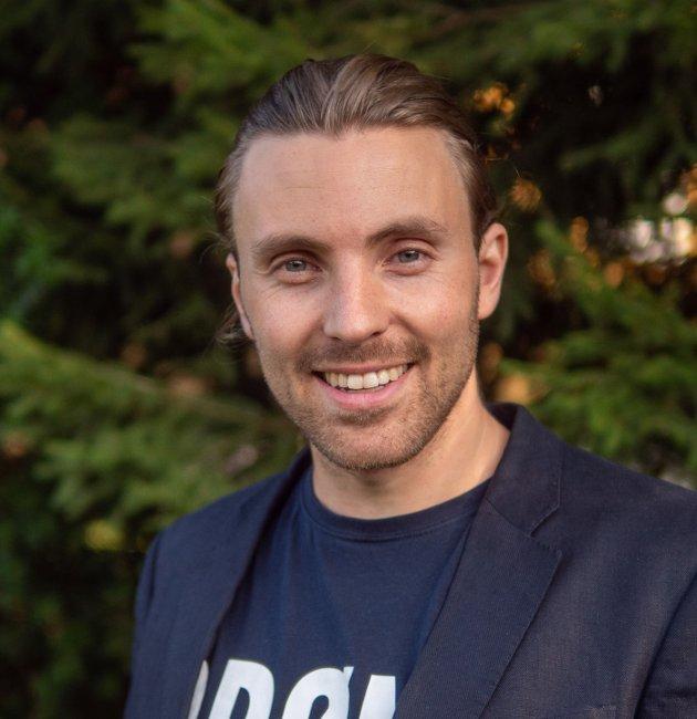 ÅS MÅ BYGGES INNENFRA:  Martin Løken (MDG) er kritisk til at spredt utbygging blir tillatt i Ås kommune. Det er lite miljøvennlig og fremtidsrettet, mener han.