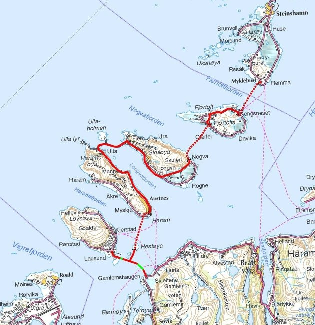 Til besvær: Gigantprosjektet Nordøyvegen.