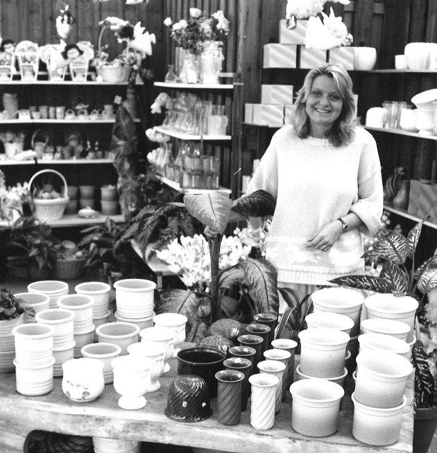 Linbäcks blomsterutsalg, Inger-Lise Magnussen, 1989.