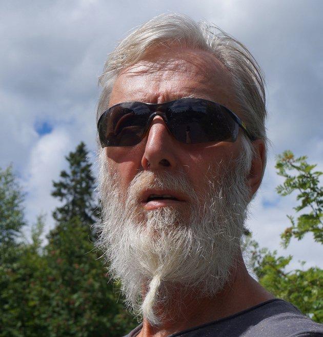 Anders Joh. Blisten. Ifarta-journalist i avisen Hadeland.