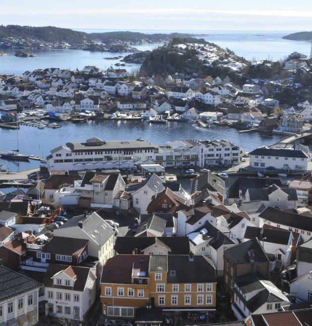 Kragerø sentrum.8Arkivfoto: Per Eckholdt