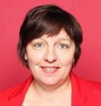 Liz-Mari Vangsvik, leder i Kvæfjord Arbeiderparti.