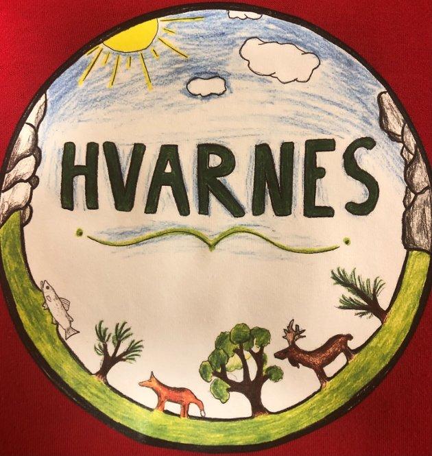 Illustrasjon av Iver Grimholt, 7. klasse ved Hvarnes skole