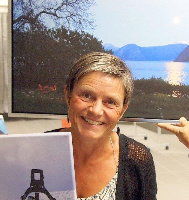YTRING: Trine Nyhlen med tankar kring den nye redaktøren i Sogn Avis.
