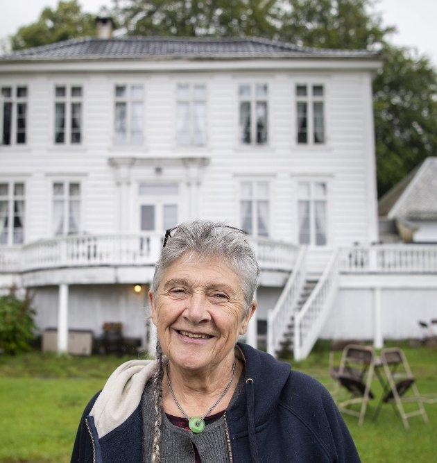 Karina Herteig frykter for Christinegaards fremtid. Arkivfoto: Anders Kjølen