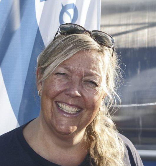 Ja-kommune:  Nina Marheim Sørsdal i Asker Høyre slår et slag for frivilligheten og engasjement for lokalmiljøet.foto: innsendt