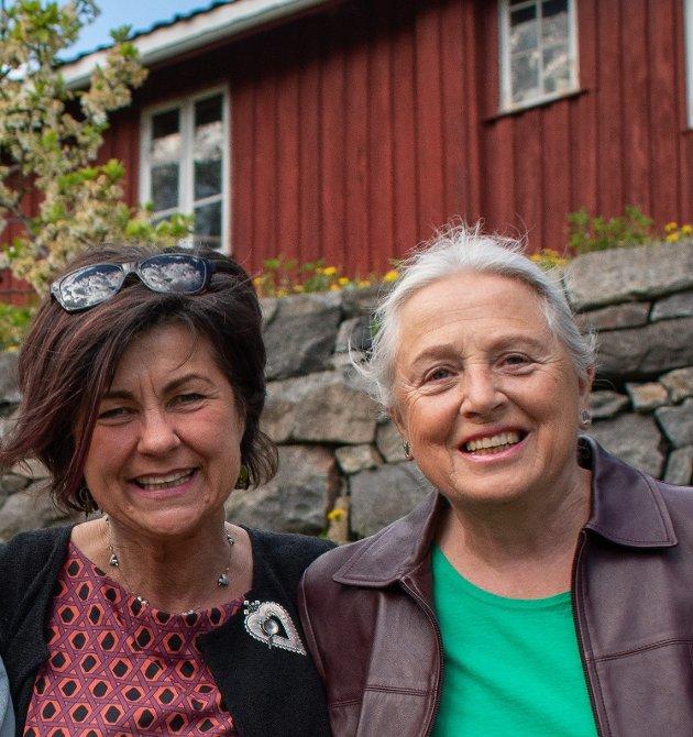 Ragnhild G Vikesland og Randi E Bergan i Rødt Kongsberg