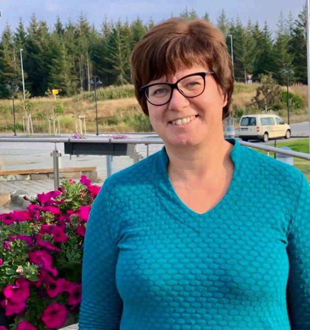 Kjersti Andersen leder Nasjonalt vindenergisenter på Smøla.
