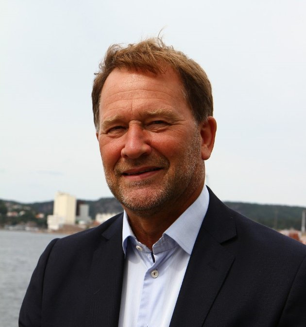 Styreleder Halvard Aglen i Norske Havner