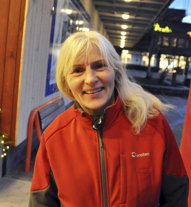 Marit Klaussen (53): – Jeg liker spesielt julelysene i byen. Det gir skikkelig god julestemning.
