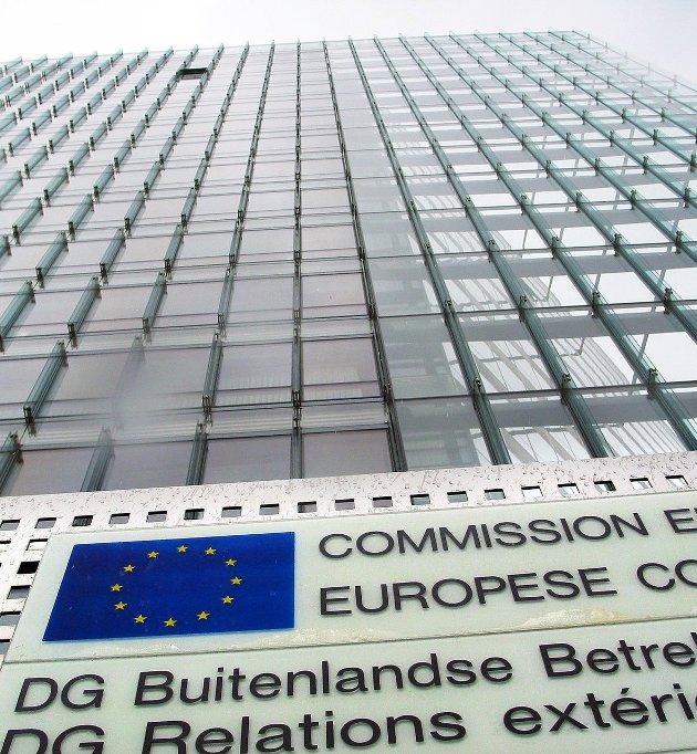 EØS: EU-kommisjonens bygg i Brussel. (Foto Svenn A. Nielsen)