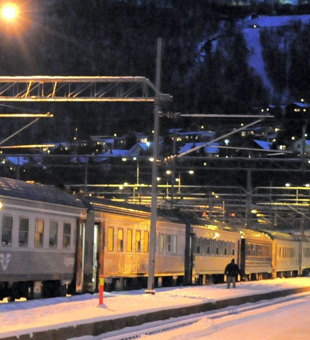 JERNBANE: Nord-Norgebanen vil både binde landsdelen sammen og koble Ofotbanen og Nordlandsbanen sammen, skriver artikelforfatteren