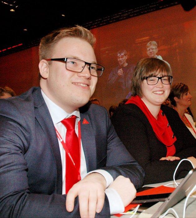 TRYGGE?: Aps lederspann i Oppland fylkeskommune, Even A. Hagen og Anne Marte Kolbjørnshus har provosert eget parti og egne velgere. Blir det deres bane?