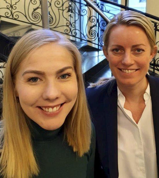 Camilla Strandskog og Mari Holm Lønseth