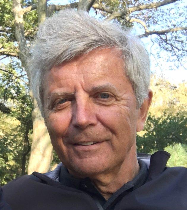 Jørn H. Eriksen, far til Tobias, 31 år, med syndromet frontonasal dysplasi.