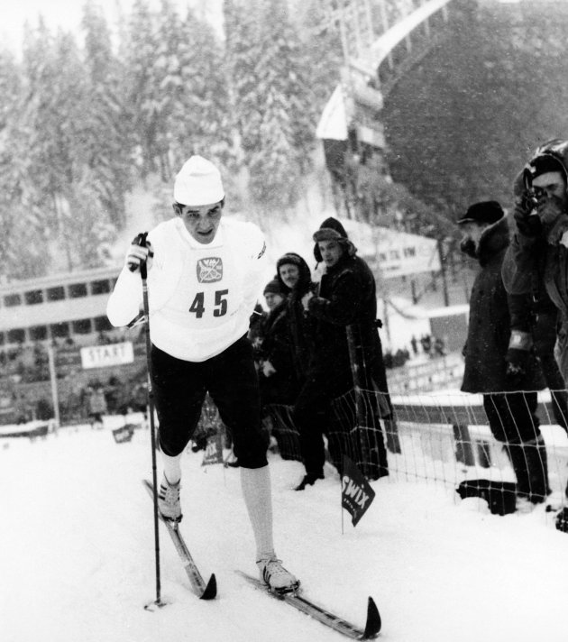 VM-konge: Gjermund Eggen tok tre gullmedaljer under VM i 1966.Foto: Knut Edvard Holm / Scanpix