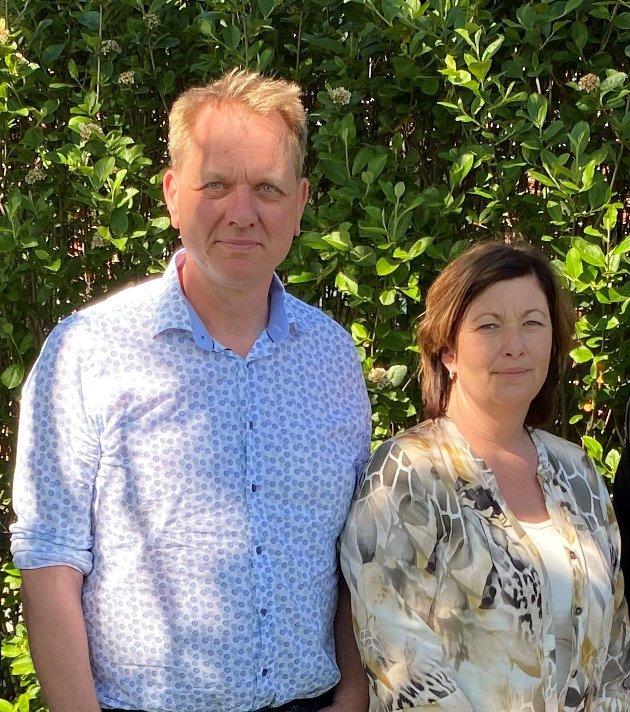 Jens Thori Kogstad og Eli Berven