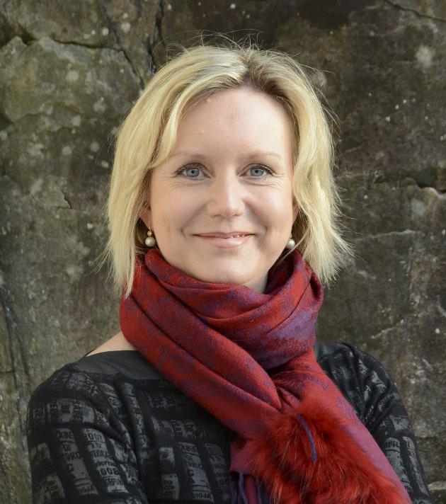 Tvedestrandspostens redaktør Marianne Drivdal.