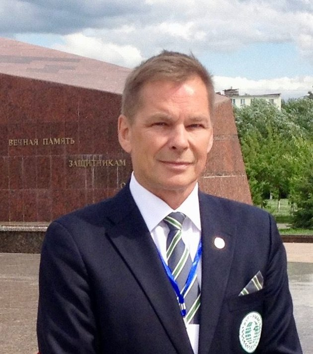 Dan Viggo Bergtun, president i World Veterans Federation, Lillestrøm