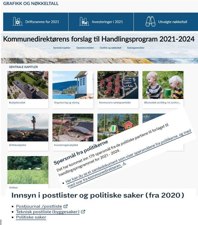 ÅPENHET: Asker har en svært godt organisert informasjonskanal både for lokale politikere og kommunens innbyggere. N.oe slikt trenger Lillehammer også, skriver Ola Skrautvol (Sp).