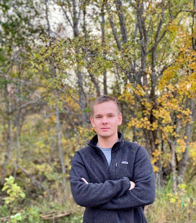 Maksim Guttormsen Råskhof, leder Finnmark Senterungdom