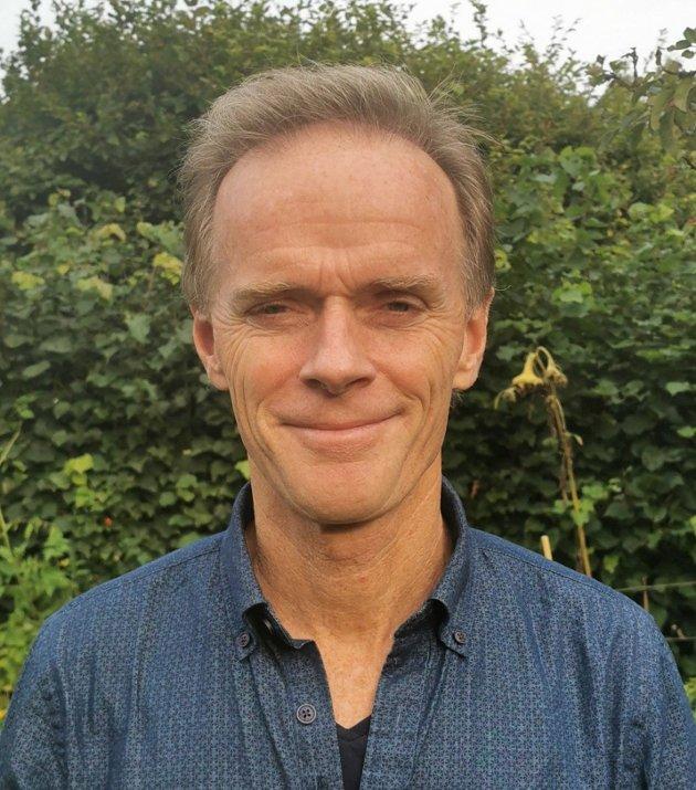 Øyvind E. Hansen, folkevalgt for Rødt til Plan, bygg og teknisk utvalg sier nei til motortestanlegg for F-35 kampfly på Rygge flystasjon
