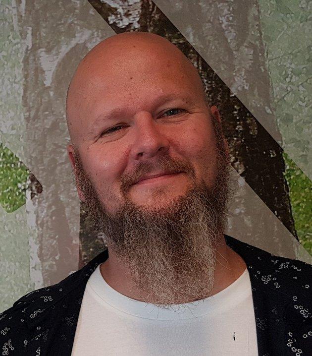 Thore Johan Nærbøe, fylkesleder Utdanningsforbundet Innlandet, mener reallønnsvekst nå er nødvendig. Foto: Tone Stangnes Gjerstad
