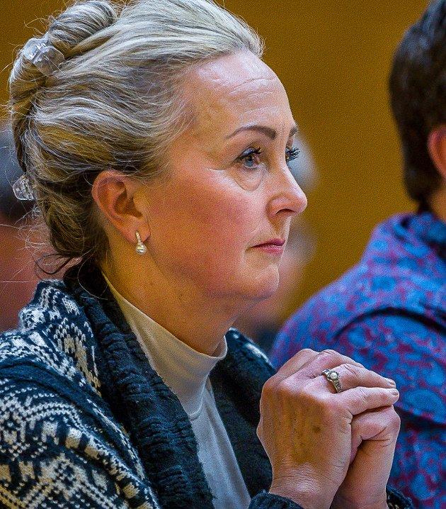 :Leder i Sarpsborg Høyre, Marit Kildedal (bildet), ble forgjeves forsøkt skjøvet ut av partiets liste til kommunevalget neste år.