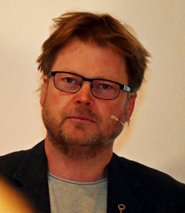 Forfatter Jørn Lier Horst har levert nok en intens spennende kriminalroman med politietterforsker William Wisting i hovedrollen. Foto: Skibsaksjeselskapet Hesvik