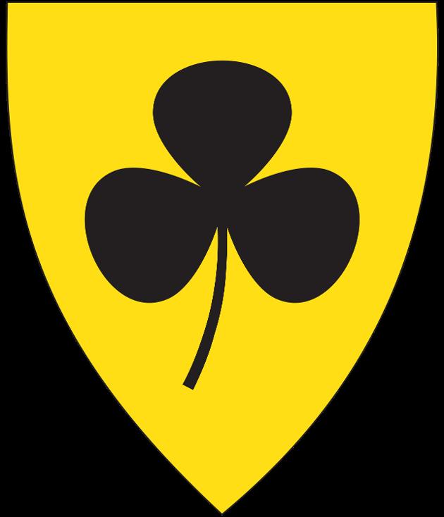 De tre bladene symboliserer Folk, kultur og natur. Stilken symboliserer Nordre Follo.