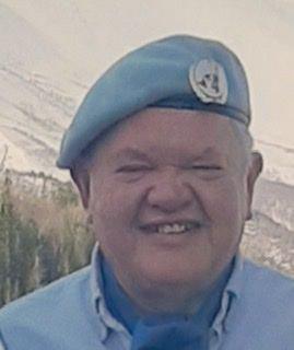 Kjell Risa, statsvitar og tidlegare FN-soldat