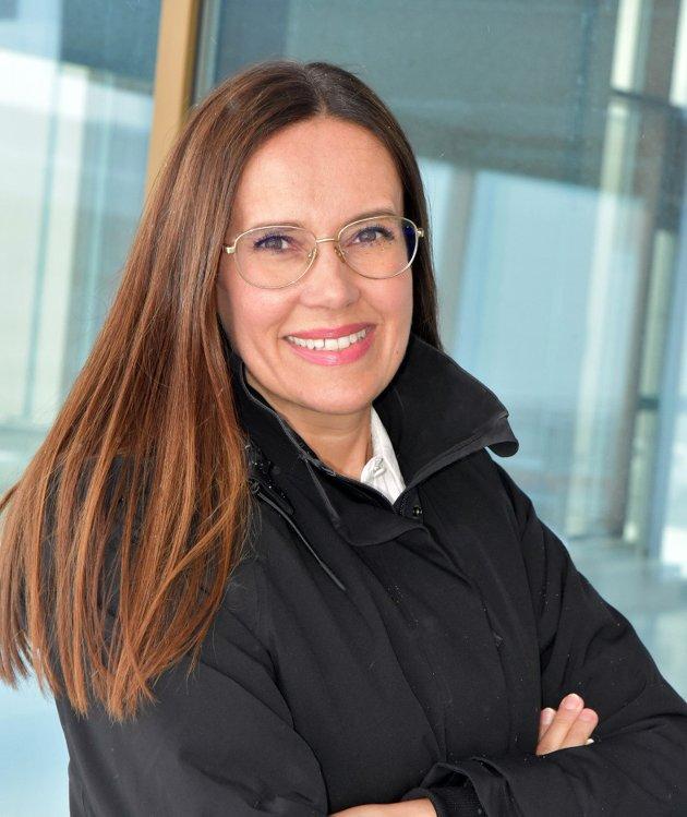 Marianne Sivertsen Næss,  2. kandidat Finnmark Arbeiderparti stortingsvalget.