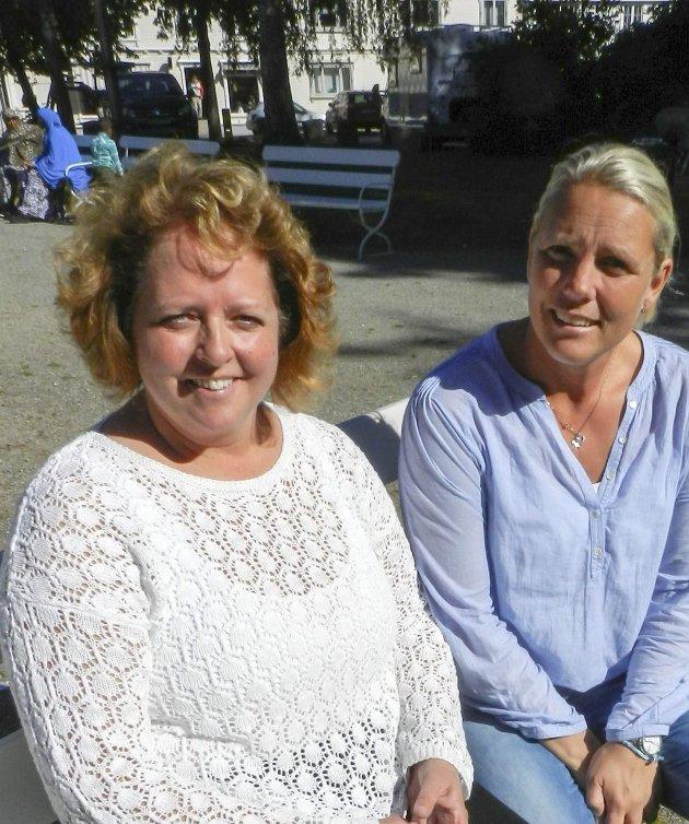 Mette Gjersengen (tv) og Susann Finnestad – Det er tragisk det har blitt som det har blitt. Det er skremmende, egentlig. Vi tenker: «Hva skjer?» og «Hvordan ender det her?». Det skjærer i hjertet spesielt å se barna som rammes. De er helt uskyldige.