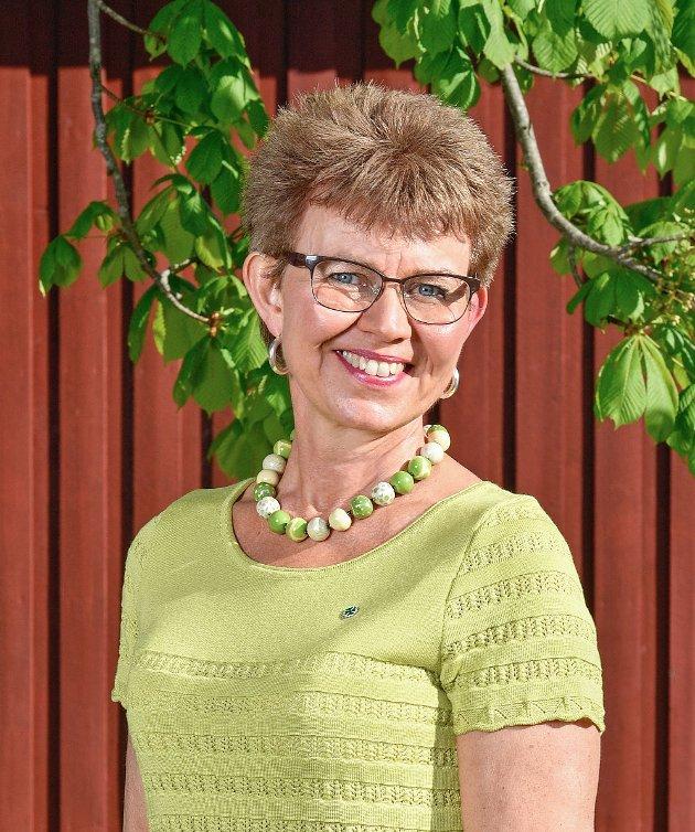 Kathrine Kleveland er andrekandidat på fylkestingslista og gleder seg til valgkamp