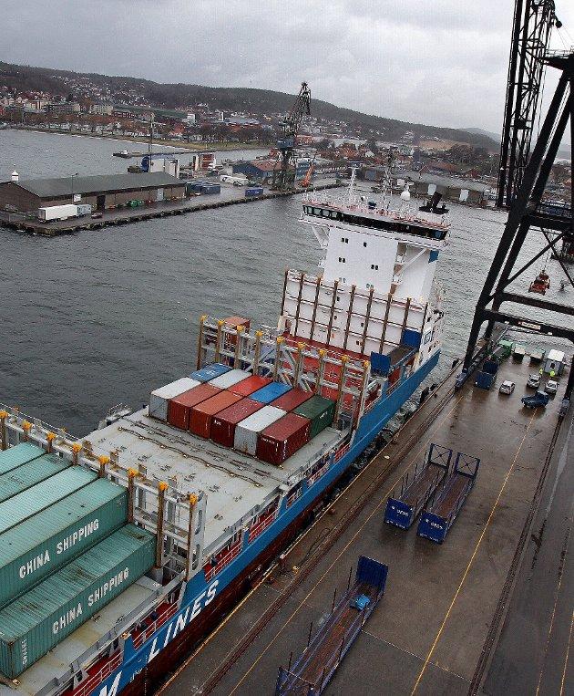 Hellig: Dagens kronikkforfatter beklager seg over beslutninger og konsekvenser knyttet til Moss havn. foto: geir hansen