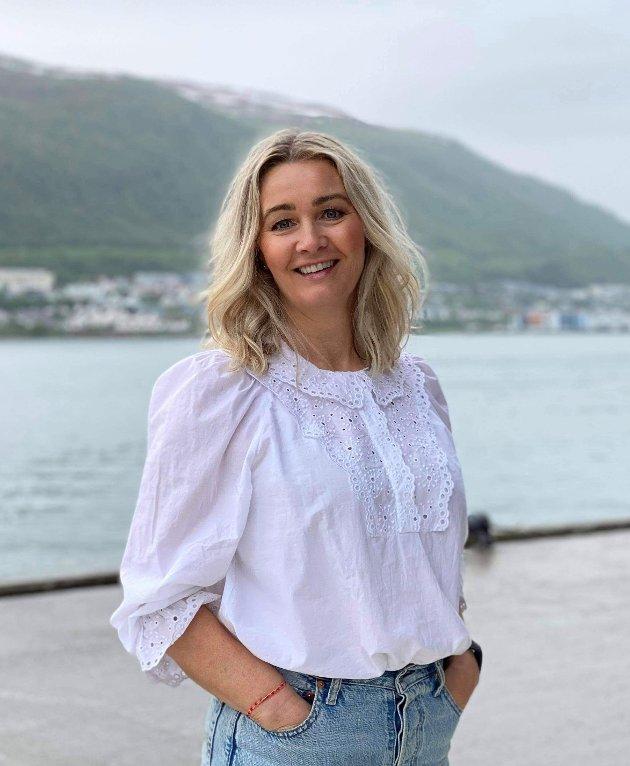 ATTRAKTIV: Tromsø skal fortsatt være vekstmotoren i nord. Da må vi skape en attraktiv by med bolyst og muligheter for alle, mener Anne Berit Figenschau fra Høyre.