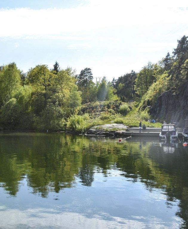 Vakil på Askerøya.