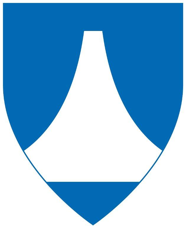 Kommunevåpen: Dette er det offisielle forslaget til kommunevåpen for Narvik.