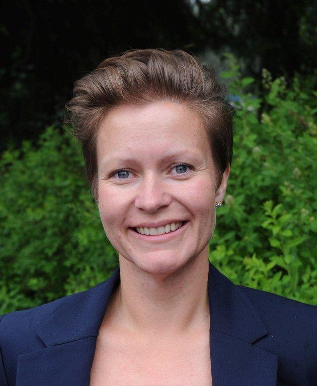 Gruppeleder Ida Eliseussen, Nittedal Senterparti (Arkivfoto: Sigbjørn Høidalen, Varingen).