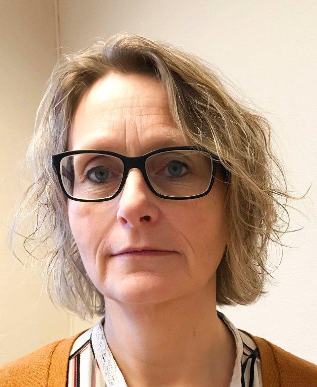 TAR AVSTAND: Leder Bente Bråthen og styret i Fagforbundet i Ringerike er svært kritisk til FrPs holdninger.