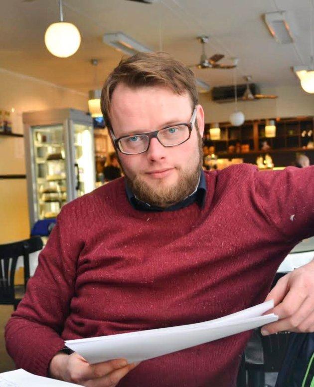 Gunnar Nikolai Halvorsen politisk frifant