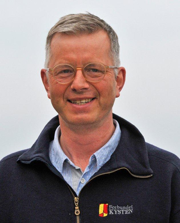 Asgeir K. Svendsen, styreleder i Forbundet KYSTEN