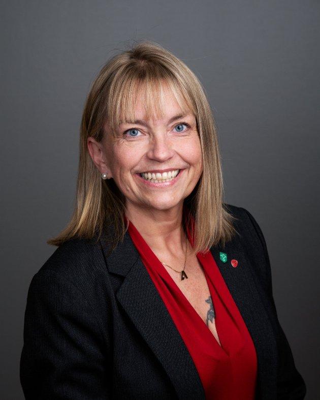 Mona C. Stormoen, representerer Innlandet Arbeiderparti i fylkesutvalget og fylkestinget