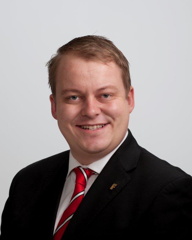 Erlend Wiborg, Stortingsrepresentant, FRP