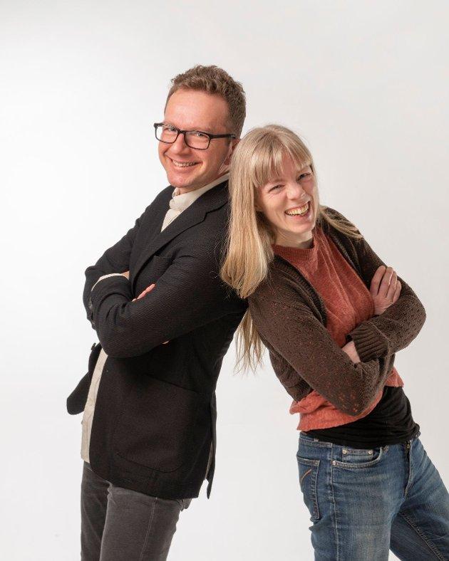Carl Johansen og Ingvild Espelid Wold, 1. og 2. kandidat til Stortinget for Møre og Romsdal MDG