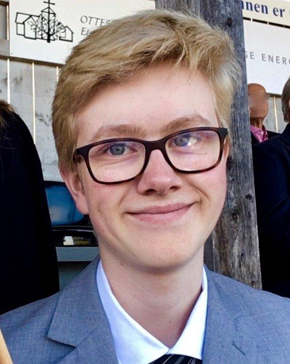 Vegard Gamme Svello, fylkesleder i Innlandet Unge Venstre.