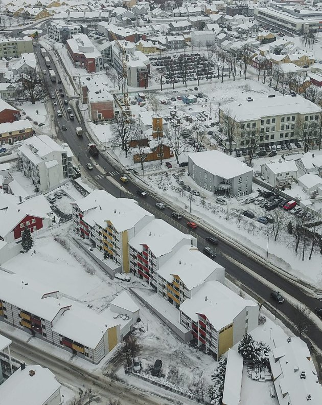 Nye veier: Riksvei 19 er et sentrtalt element i ossetrafikken, mange ønsker en bedre løsning. foto: Terje holm