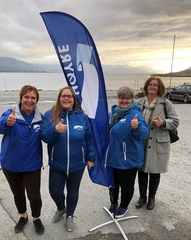 Fra valgkamp Narvik i 2019