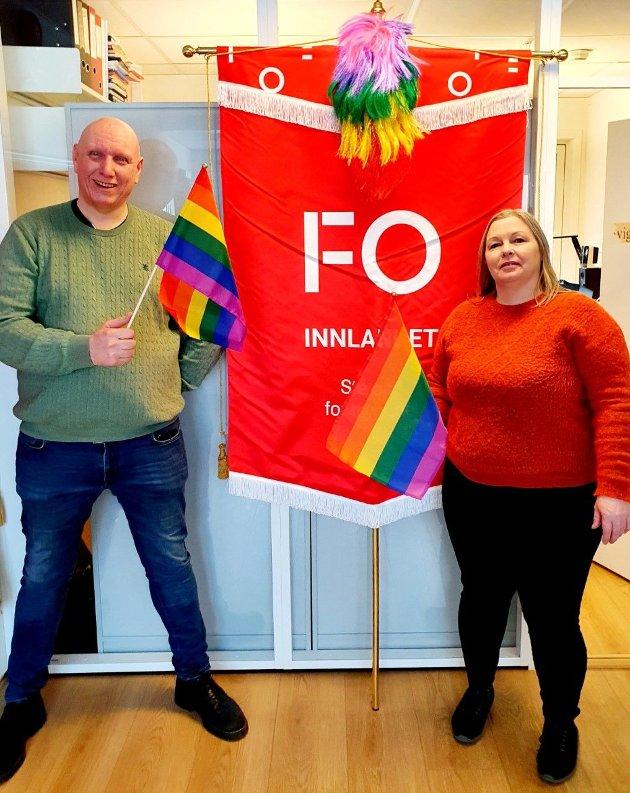 JOBB: – Det gode samfunnet kommer ikke av seg selv, skriver Olav Neerland og Åse-Kari Kobbersletten i FO Innlandet.